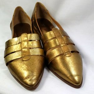 Chinese laundry gold sandals size 10